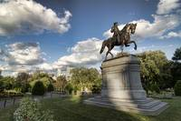Boston Public Garden - Geo Washington Statue
