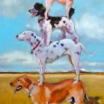 """Dog Pile"" by AnnTuck"