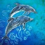 """""""Ocean Dudes - Porpoise Pair"""" by sueduda"""