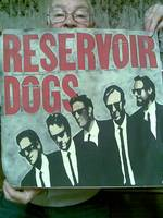 Acrylic + Airbrush Resevoir Dogs Movie Art.