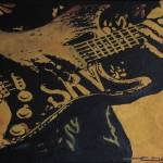"""SRV #1 Stratocaster"" by EricDee"