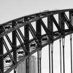 """Bridge Climb 1 in Black and White,Sydney,Australia"" by mjphoto-graphics"