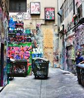 Grafitti Alley, Melbourne, Australia