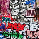 """Red and Green Grafitti, Melbourne, Australia"" by mjphoto-graphics"