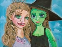 Wicked Witch and Glinda by Gordon Bruce