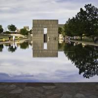 Oklahoma-National-Memorial_09 Art Prints & Posters by Jim Lawrence
