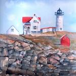 """Nubble Lighthouse - Maine"" by awagner"