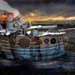 """""""Steel Gunboat"""" by moonboy"""