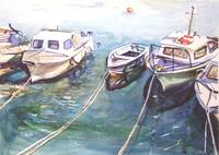 Boats at Falmouth
