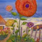 """Zinna Bloom"" by karenjlee"