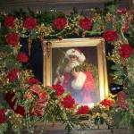 """Framed Santa In Roses"" by photographybydonna"