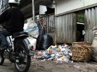 Global Warming caused by garbages in Bandung city