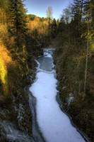 0135 Salmon Falls On The Washougal River Frozen
