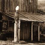 """Homage, Walker Evans, ghost town, Wagoner, AZ"" by davidleeguss"