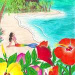 """Hibiscus Island"" by jennlandstedt"