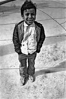 Homage, August Sander, Hispanic boy, Tucson, AZ