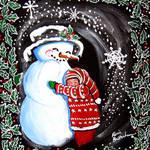 """""""Snowman Hug"""" by reniebritenbucher"""