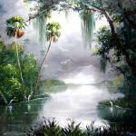 """""""Misty Florida Moss"""" by mazz"""