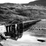 """Barmouth-Fairbourne Bridge"" by andrewmew"