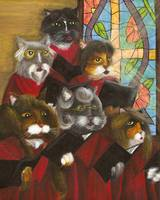 Cat Art Gospel Church Choir