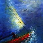 """The Sailboat Race"" by monalisyartist"
