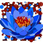 """Blue Lotus"" by aradovan"