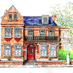 """Victorian Villa, Chiswick, London"" by yvonneayoub"