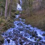 """0139 Wakeena Falls Frozen"" by vincentlouis"