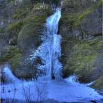 """0141 Horsetail Falls Frozen Panoramic"" by vincentlouis"