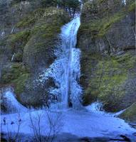 0141 Horsetail Falls Frozen Panoramic