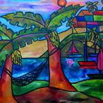 """View from my Villa"" by artbypatti"