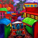 """Trolley"" by artbypatti"