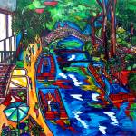"""Barges at the River"" by artbypatti"