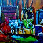 """Messy Paints"" by artbypatti"