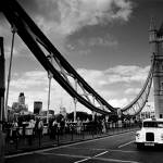 """Tower Bridge & The White Cab, London"" by Aldo"