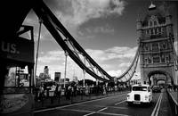 Tower Bridge & The White Cab, London