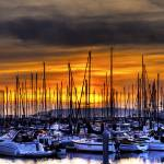 """Sunset at the Marina"" by grangerphotography"