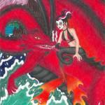 """""""Samurai Red"""" by jennlandstedt"""
