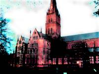 Salisbury Catherdral abstracted