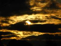 Golden Sunset Clouds 2620