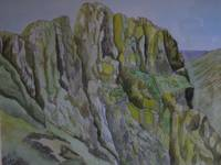 Lake District Rockface