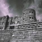 """InfraRed Castle"" by photocatphoto"