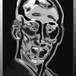 """""""Silver-mask"""" by HeikeSchenkArena"""