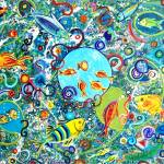 """Fish party"" by paintingsbygretzky"
