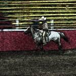 """Homage, Ernst Haas, vaquero, rodeo, Phoenix, AZ"" by davidleeguss"