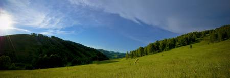 Nature of Altai