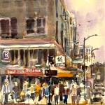 """Jackson Street Crowd"" by WilliamDunn"