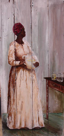 Isabella-Les Fille Noir #15 SOUTHERN ART AFRICAN A