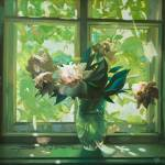 """Grandmothers Window"" by Mogilevskiy"