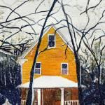 """Watercolor Landscape - The Salem Series II"" by artprint"